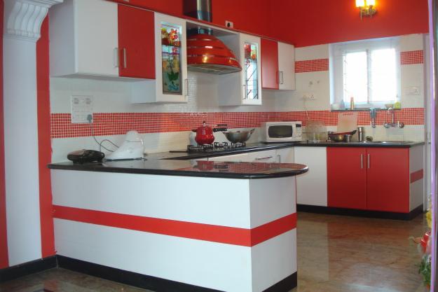 Sharon interior modular kitchen for Kitchen designs bangalore